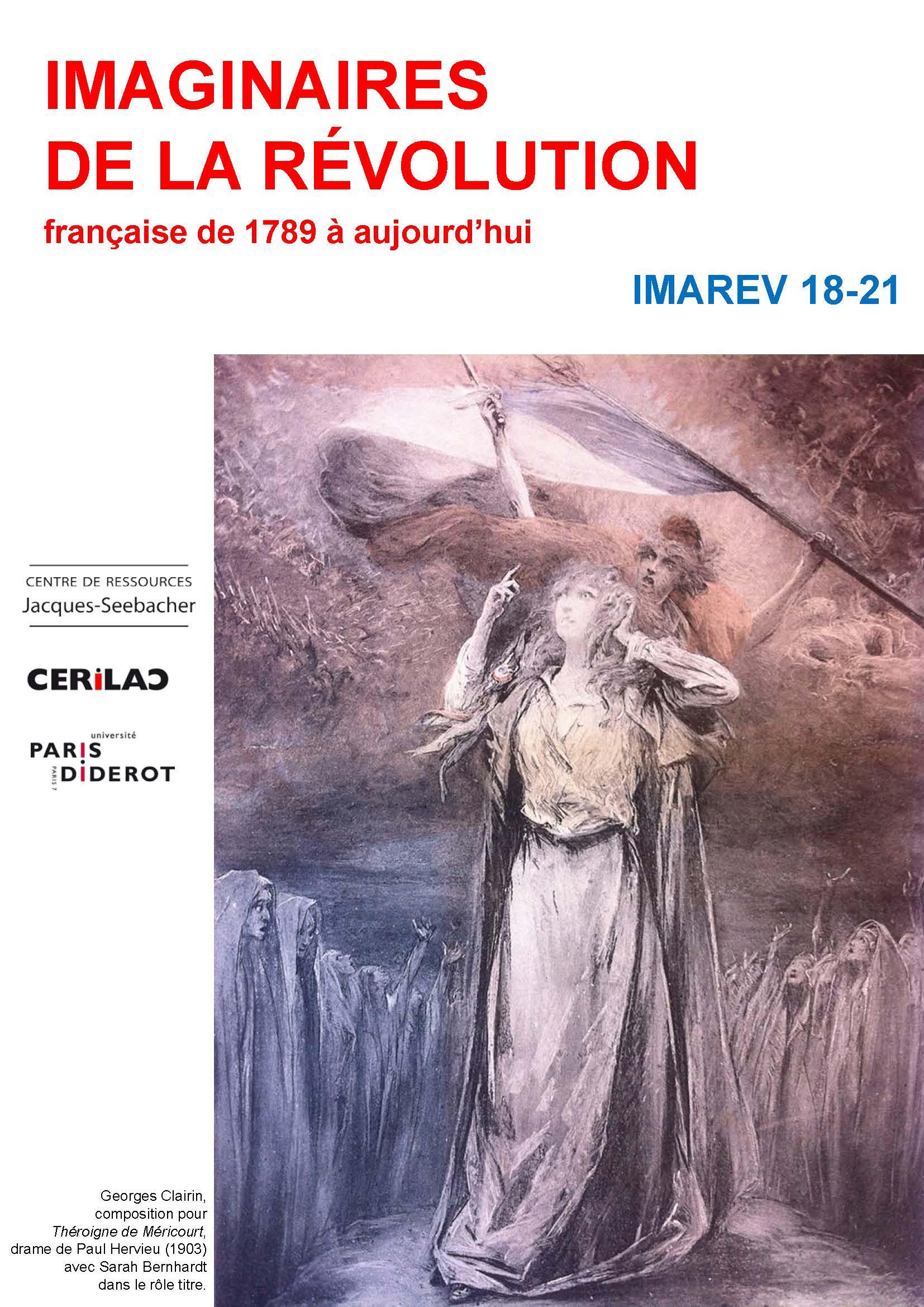 Programme IMAREV 2017-2018 Couverture