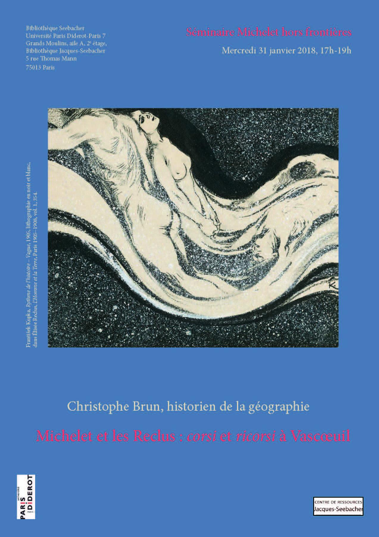 affiche séminaire lithographie Kupka